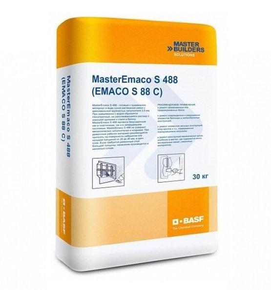 Смесь бетонная emaco s88c расход дом из керамзитобетона с утеплением