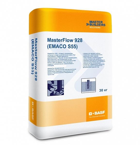 Безусадочная бетонная смесь masterflow 928 цена коронка 125 мм по бетону купить